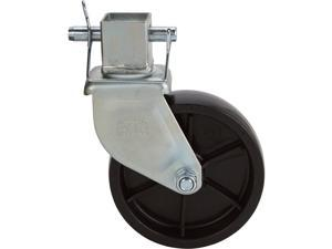Ultra-Tow Square Tube Caster - 1,200-Lb. Capacity