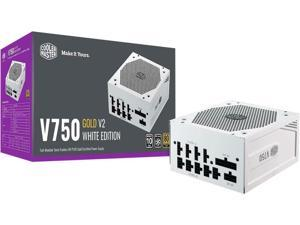 Cooler Master V750 Gold V2 White Edition Full Modular, 750W, 80+ Gold Efficiency