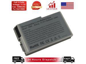 D600 Laptop Battery for Dell Latitude D505 D610 D520 D500 D510 D530 C1295 6Y270