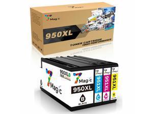 4 Pk Compatible 950 Xl 951Xl Ink Combo Hp Officejet Pro 276Dw 251Dw 8600 8615