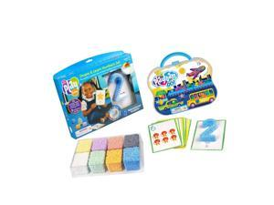 Educational Insights Playfoam Shape & Learn Numbers & Go Set
