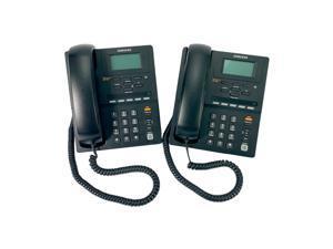 LOT OF 2 Samsung OfficeServ SMT-i3105 Black Business Network VOIP Phone PoE