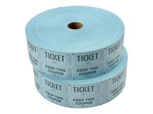 Staples Double Ticket Roll 2000/Roll 2 Rolls/Pack (19164) 321259