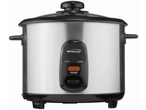 Brentwood Ts-10 5 Cup Stainless Steel Rice Cooker,No TS-10