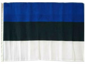PARKING FOR ESTONIAN ONLY Decal estonia flag national pride love
