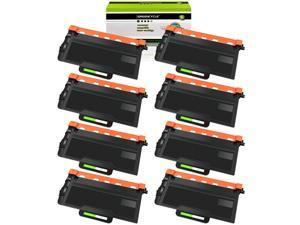 GREENCYCLE 8 Pack TN850 TN-850 Black Toner Cartridge Compatible for Brother HL-L5000D DCP-L5500DN MFC-L6750DW Printer