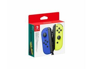 Nintendo Switch Joy-Con Controllers: Neon Blue / Neon Yellow Accessory (L-R)