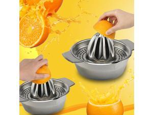 1X Stainless Steel Lemon Orange Lime Squeezer Juicer Hand Press Kitchen Tool NEW