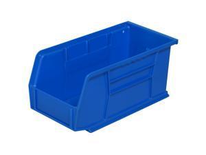 Akro-Mils 30230BLUE Blue Stack & Hang Bin 10-7/8D x 5-1/2W x 5H 12/pk