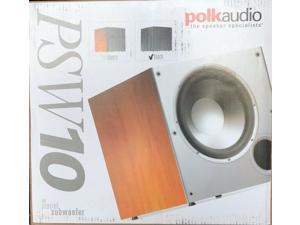 Polk Audio - AM1055-C - PSW10 - 10-inch Powered Subwoofer - BLACK