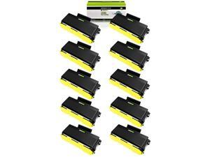 10 Pack BLACK Toner For Brother TN580 TN650 MFC-8470 MFC-8860DN MFC-8870 Printer