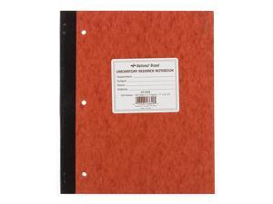 """NATIONAL Laboratory Notebook, 4 X 4 Quad, Brown, Cover, 11 x 9.25"""", 100 Sets (43649)"""