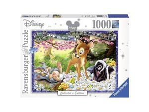 Disney Collectors Edition Bambi Panorama Puzzle 1000 Piece Professional Soft Click Jigsaw Ages 12+