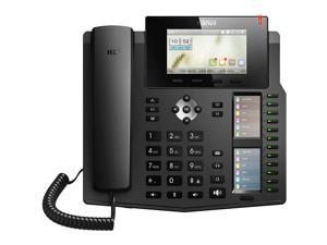 Fanvil X6 20 Line IP Phone Color Screen and PoE Bundled with Fanvil HT201 Headset