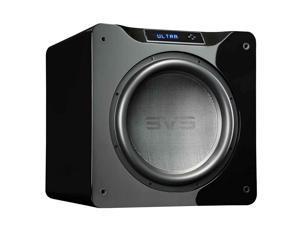 SVS SB16-Ultra Subwoofer (Piano Gloss Black) – 16-inch Driver, 1,500-Watts RMS, DSP App Control, Sealed Cabinet