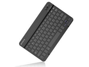Fintie 10-Inch Ultrathin (4mm) Wireless Bluetooth Keyboard for Android Tablet Samsung Galaxy Tab E/Tab A/Tab S, ASUS, Google Nexus, Lenovo and Other Android Devices