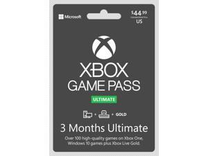 Xbox Game Pass Ultimate 3 Month Sub Card (Game Pass + Live Gold) (Xbox One)