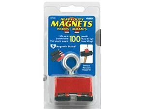 """Heavy-Duty Retrieving and Holding Magnet 1/"""" Height with Ey 2/"""" Width 5/"""" Length"""