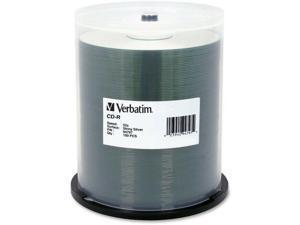 VERBATIM AMERICAS LLC 94797 100PK CD-R 80 MIN 700MB 52X SHINY SILV