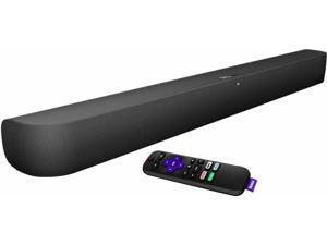 Roku - 2.0-Channel Smart Soundbar - Black