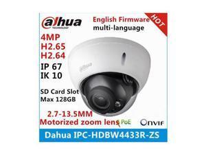 Dahua Starlight Camera IPC-HDBW4433R-ZS 2.7mm ~13.5mm varifocal motorized lens 4MP IR50M IP camera replace IPC-HDBW4431R-ZS