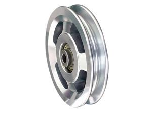 Alloy Pulley Wheels U Groove Home Fitness Pulley Cable Machine DIY 88 mm