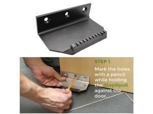 Steel Hands Free Door Opener Foot Operated Door Opener Black
