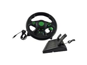 Racing Steering Wheel and Pedal Set Truck Driving Simulator Game Controller