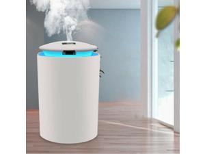USB Essential Oil Diffuser Air Humidifier 260ml Tank for Bedrooms White