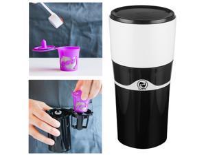 Portable K-Cup Drip Coffee Maker Travel Mug Mini Espresso Maker Camping