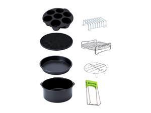 1Set Air Fryer Accessories Deep Fryer Accessories Easy & Convenient to Clean