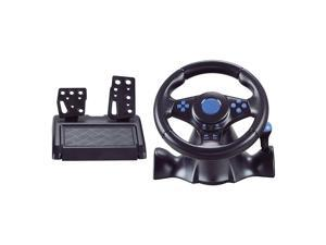 USB Car Racing Game Steering Wheel Pedal Driving Simulator for PS4 Xbox One