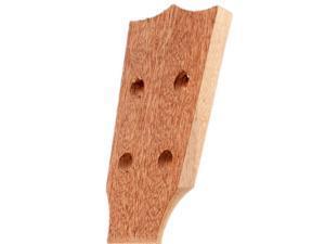 Ukulele Concert Neck Veener Sapele Wood Ukulele Guitar Neck DIY Parts 26inch