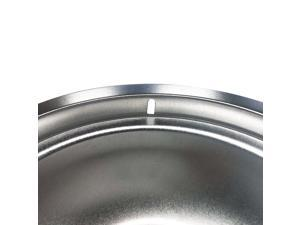 Stove Drip Pans Replacement for Whirlpool, Two 190mm,Two 238mm