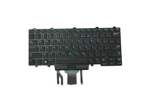 For Dell Latitude 3340 E3340 US English Backlight Keyboard Pointing Stick