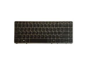 Keyboard for HP EliteBook 840 G1 850 G1 ZBook 14 840 G2 US Keyboard w/ Frame