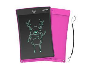Jot 85 Inch Doodle Pad Drawing Board LCD Writing Tablet with Lock Function for Note Taking eWriter Gifts for Kids Pink