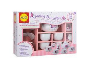 Chasing Butterflies Ceramic Kids Tea Set 13 Piece