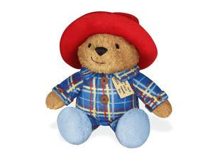 Paddington Bear Collection   Sleepy Time Paddington Stuffed Plush Toy Snores When Hugged 7 25 H