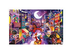 PCS Adult Jigsaw Large Jigsaw Puzzle Puppet City Adult Decompression Child Educational Gift