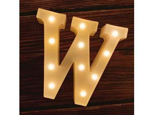 LED Marquee Letter Lights 26 Alphabet Light Up Marquee Number Letters Sign for Wedding Birthday Party Battery Powered Christmas Lamp Night Light Home Bar Decoration W