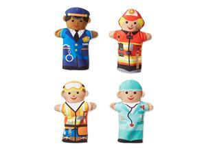 amp Doug 96037 Jolly Helpers Hand Puppet Multicolor