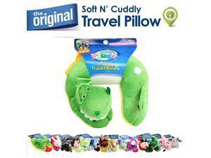Plush Animal Neck Pillows Dinosaur Rex