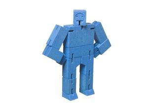 Micro Cubebot Brain Teaser Puzzle Blue