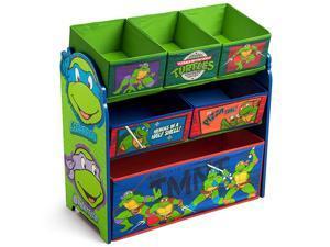 6Bin Toy Storage Organizer Ninja Turtles