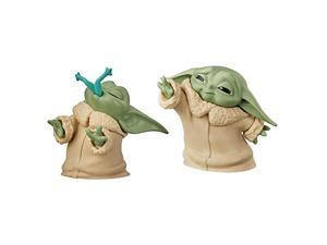 The Bounty Collection The Child Collectible Toys 22Inch The Mandalorian Baby Yoda Froggy Snack Force Moment Figure 2Pack