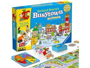Richard Scarrys Busytown Eye Found It Toddler Toy and Game for Boys and Girls Age 3 and Up A Fun Preschool Board GameMulticolored