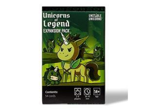 Unicorns Unicorns of Legend Expansion Pack designed to be added to your Unicorns Card Game