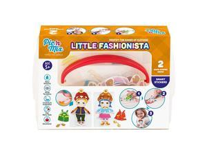 Little Fashionista Toddler Matching Games for 3 Year Old Board Game Educational Preschool Learning Toy Fine Motor Skills Toy for Boys and Girls