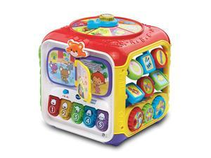Sort and Discover Activity Cube Frustration Free Packaging Great Gift For Kids Toddlers Toy for Boys and Girls Ages 1 2 3